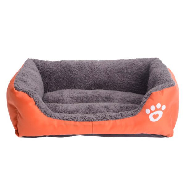 Dog Bed with Soft Fleece for Comfort