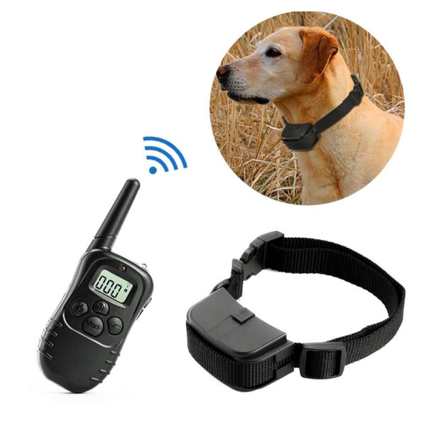 Dog Training Collar with Remote Control and Shock Vibration Beep Modes